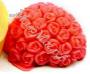 форма Сердечко из роз силиконовая