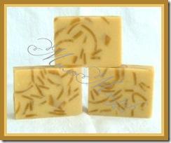 Мыло с маслом какао и маслом ши