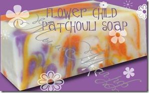 Детское цветочное мыло с пачули
